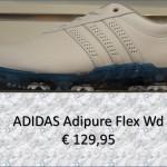 ADIDAS adipure flex wd wit