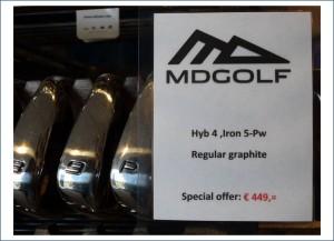 md golf