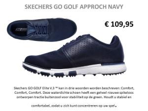Skechers GO GOLF approach navy